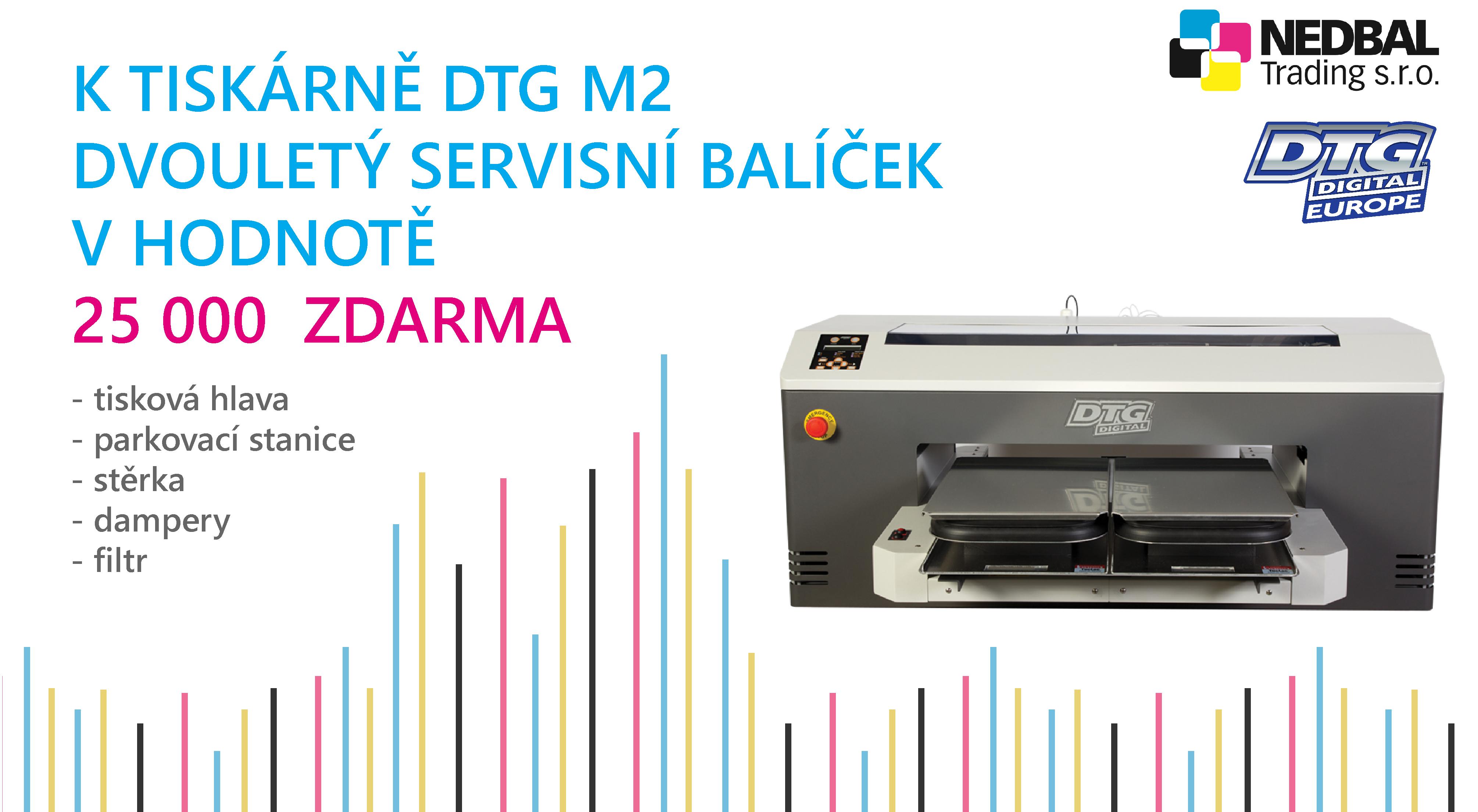 k DTG M2 servisní balíček zdarma